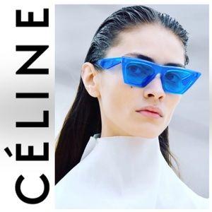 NWOT Céline CL 41468/S Blue Sunglasses